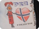 Cool t-shirt made by PEZ of Norway with Norwegian flag