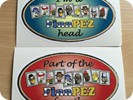 FinnPEZ family and FinnPEZhead stickers